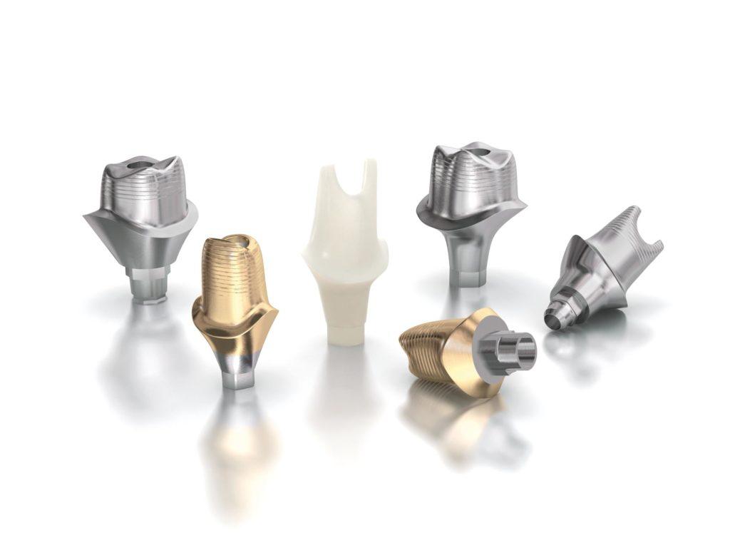 Zahn Abutments für Zahnimplantate